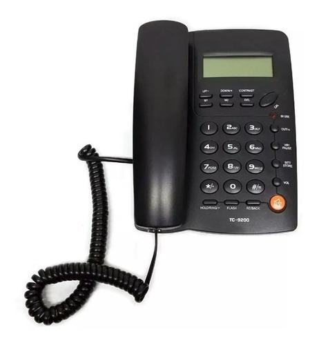 teléfono alámbrico con identificador de llamadas homedesk