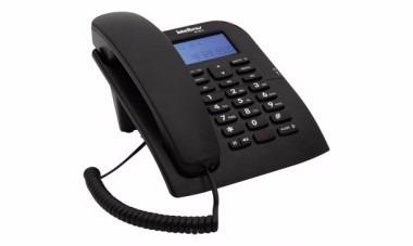 teléfono alámbrico de mesa o pared con identificador tc60 id