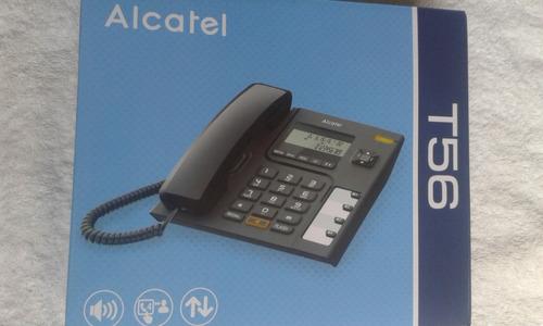 telefono alambrico fijo alcatel modelo t56