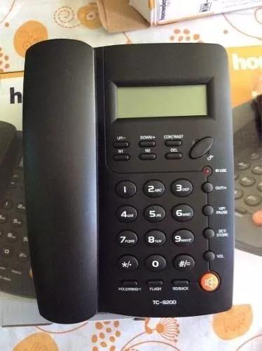 telefono alambrico home desk con id y altavos nuevo de linea