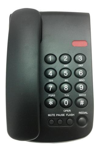telefono alambrico vtech vtc100 montable en mesa o pared