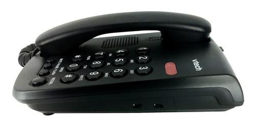 telefono alambrico vtech vtc100 montable en mesa o pared sin