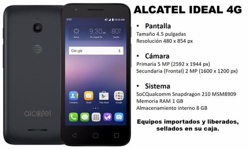 telefono alcatel ideal 4g android 5.1 8gb liberado solo hoy