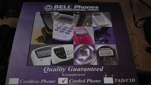 teléfono americano bellphone 2 líneas rj11 independientes
