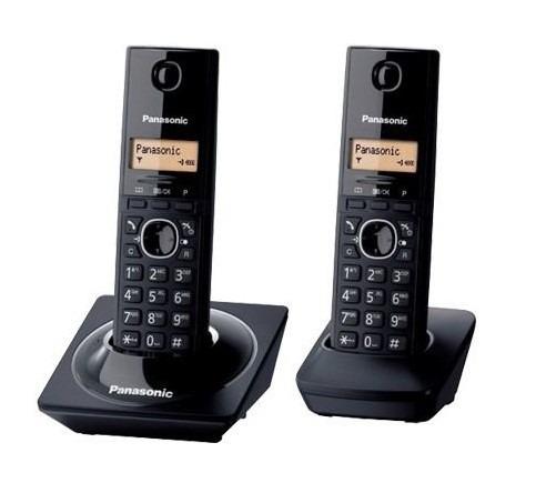teléfono analógico panasonic kx-tg1712meb inalámbrico 1 líne