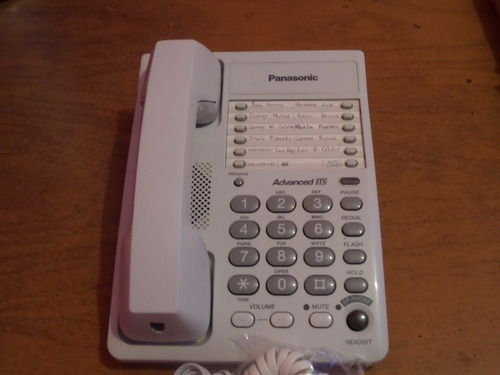 telefono analogico panasonic kx-ts105