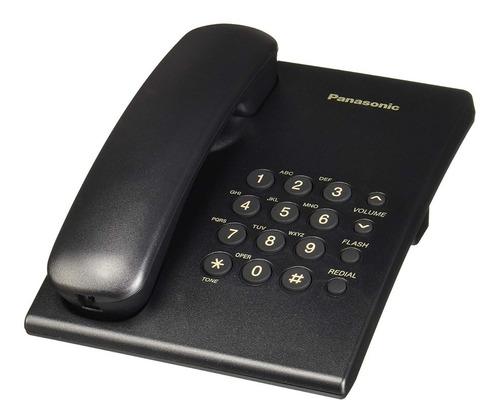 teléfono analógico panasonic kx-ts500meb escritorio/ pared