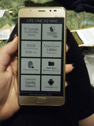 teléfono android blu life one x2 mini