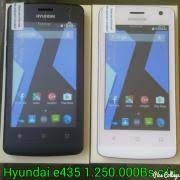 telefono android hyundai e435, doble sim, liberados, flash