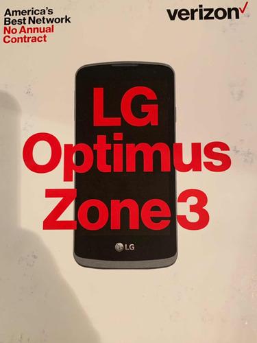 teléfono android lg optimus zone 3 nuevo liberado