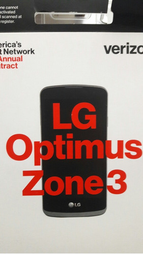 telefono android lg optimus zone 3 nuevo liberado