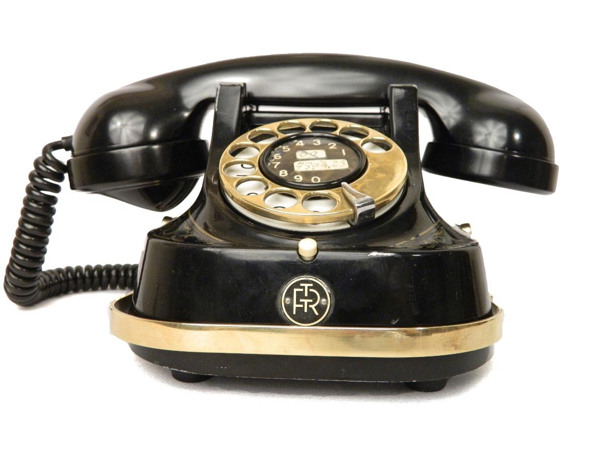 Teléfono Antiguo Belga Atea Rtt Mod. 56 A Bell Co. 98765