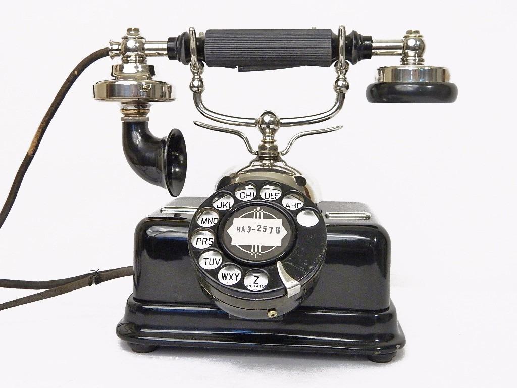 Telefono Antiguo Danes Kjobenhavns Aktieselskab Autentico