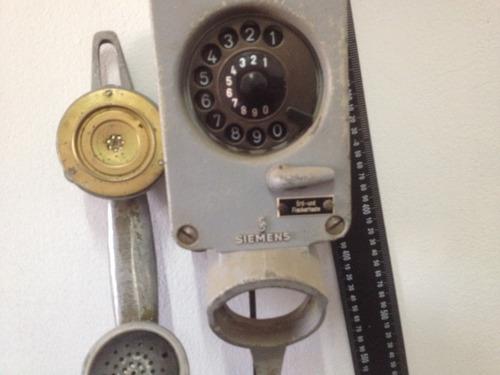 teléfono antiguo de barco siemens  1918