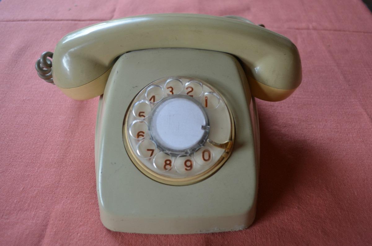 telefono antiguo de mesa espa ol en mercado libre