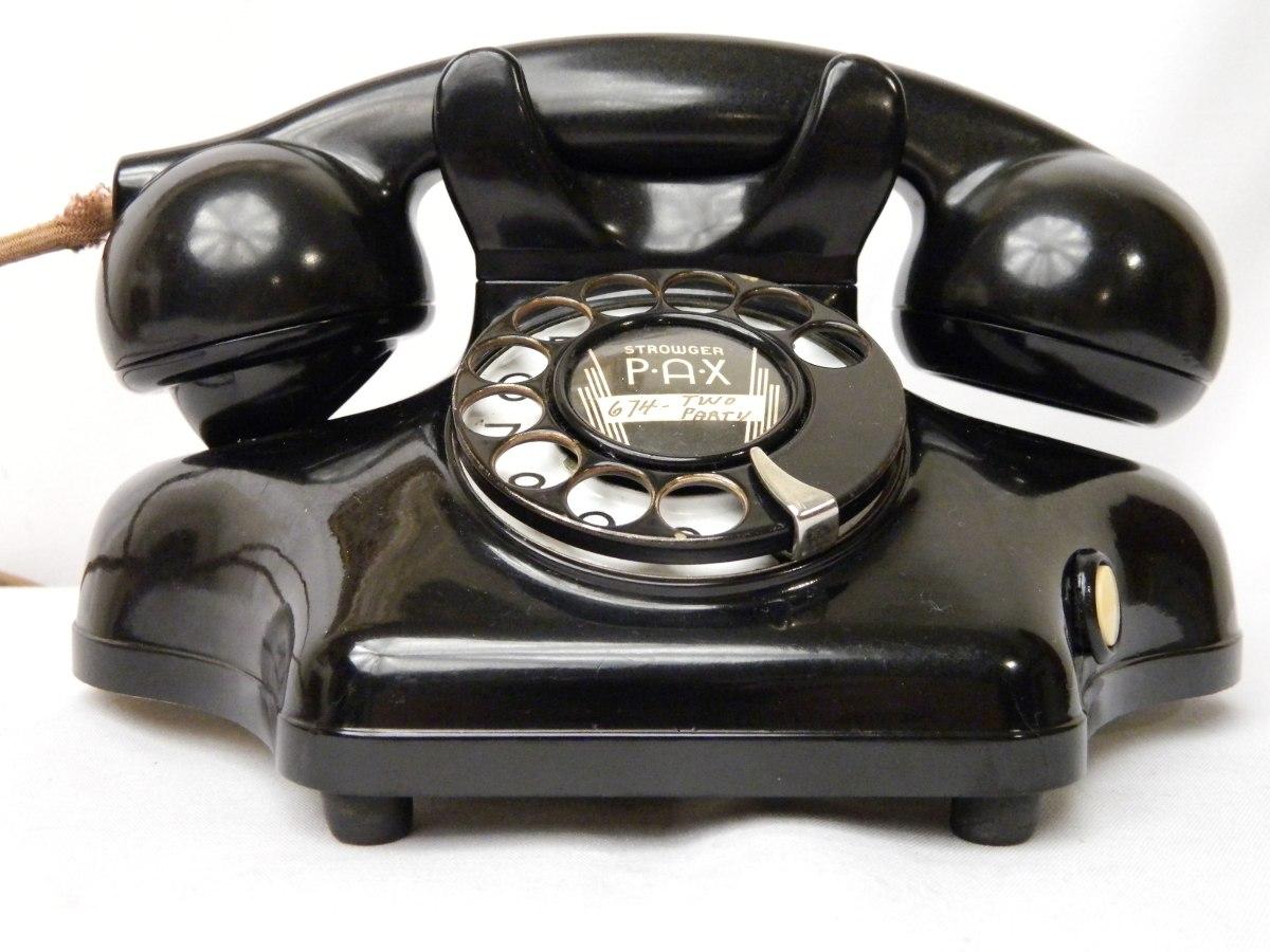 Teléfono Antiguo Kellogg De Baquelita Mod. 925 Ashtray