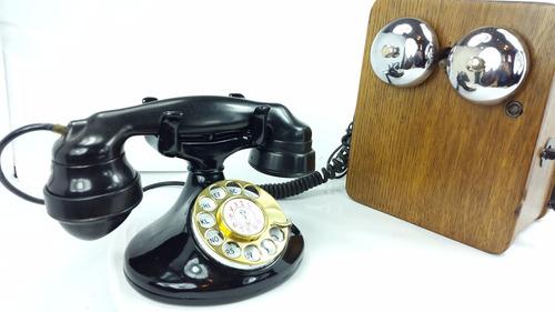 teléfono antiguo western electric, coleccion vintage
