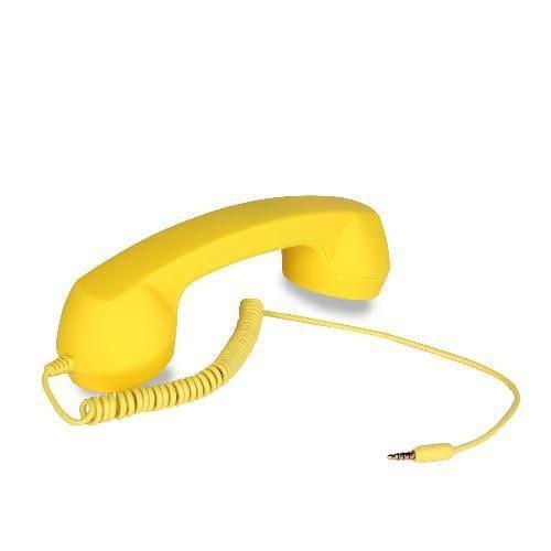 telefono auricular manos libres coco phone amarillo