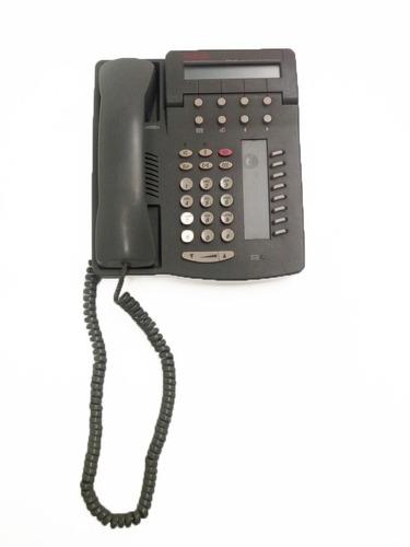telefono avaya 6408  ip alámbrico negro usado