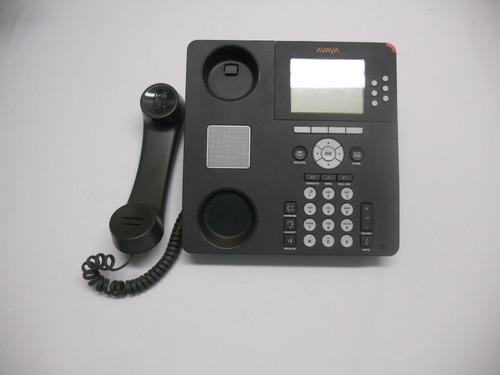 teléfono avaya 9630 voip poe seminuevo gris   700383409
