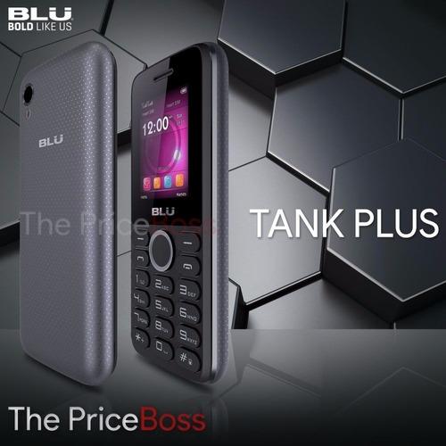 telefono basico blu tank plus liberado barato