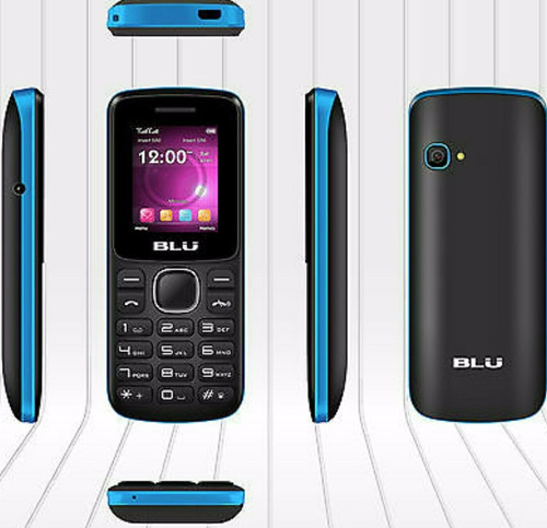 teléfono básico blu z3m liberado, en su caja