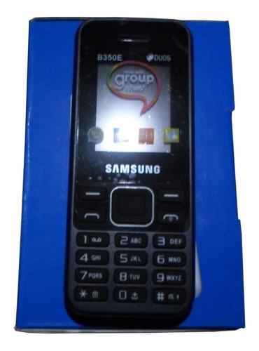 telefono basico samsung b350e doble sim liberado mp3 camara