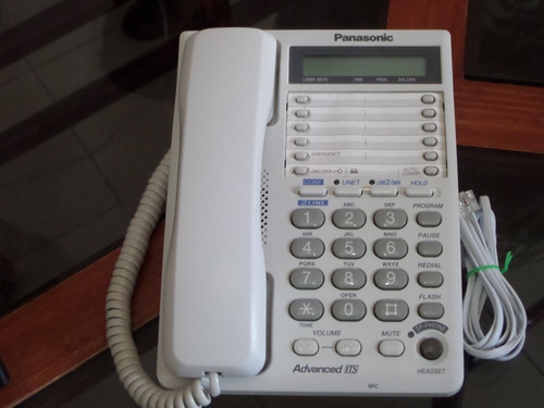 telefono  bilinea   panasonic kx-ts208
