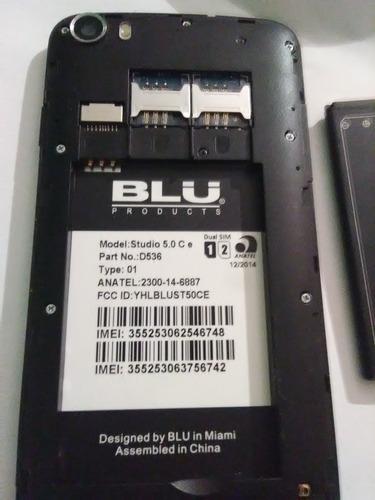 telefono blu 5.0 studio ce para repuestos