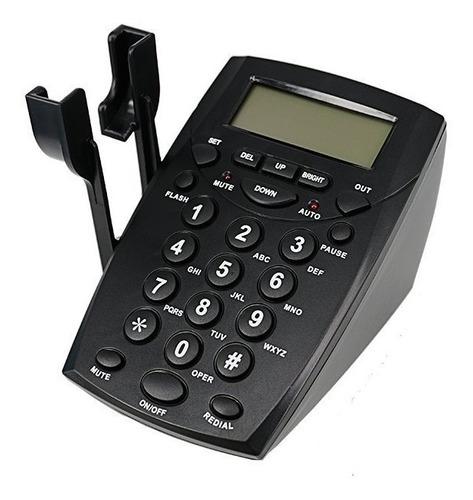 telefono call center ht500 con auriculares diadema
