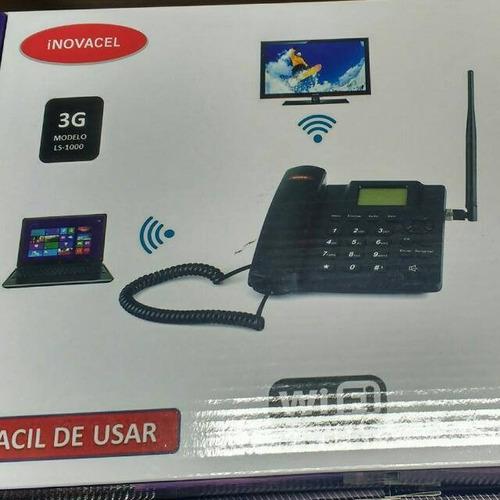 telefono celular 3g casa zona rural wifi hasta 8dispositivos