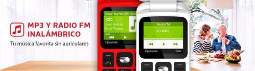 telefono celular adulto mayor numeros grandes boton  sos