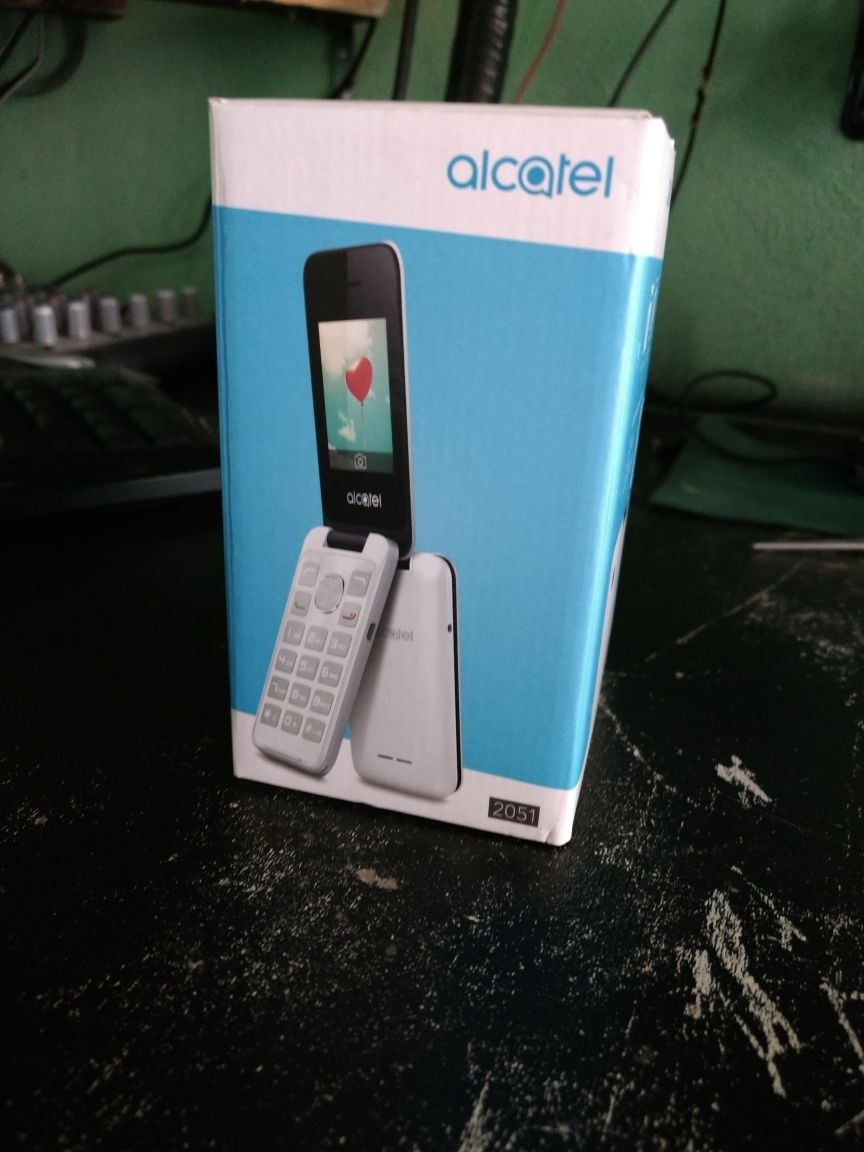 Telefono Celular Alcatel 2051 Liberado Negro Mp3 Camara 600 2051d Cargando Zoom