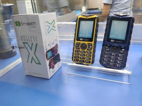 telefono celular basico smooth snap mini x liberado dual sim