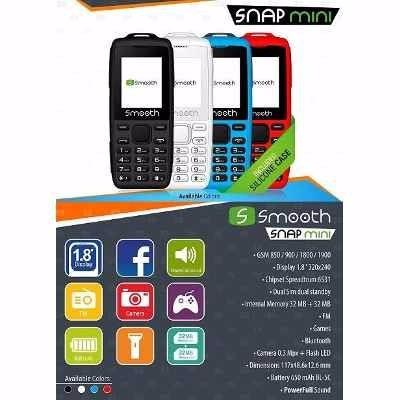 telefono celular basico snap smooth liberados doble sim