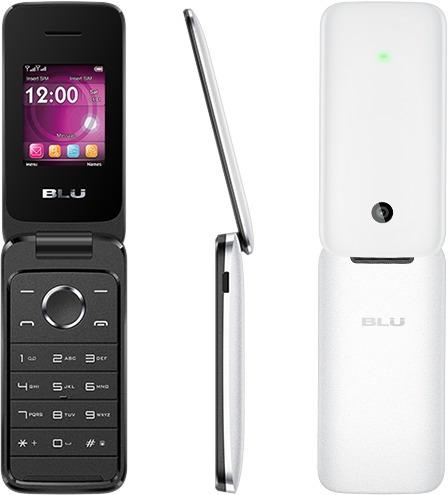 telefono celular blu