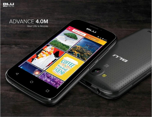 telefono celular blu advance 4.0 m dual sim android 6