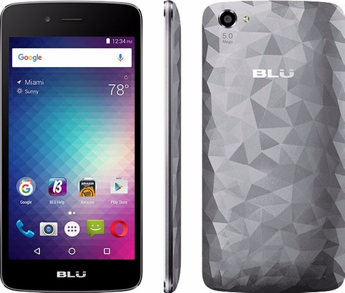 teléfono celular blu diamond m 100% original, dual sim