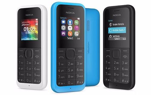 telefono celular economico nokia 105 doble sim nuevo tienda