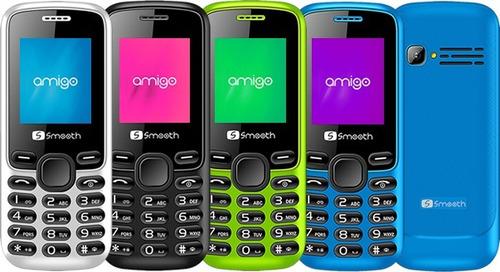 teléfono celular economico sencillo barato básico smooth