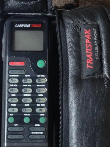 teléfono celular ericsson g.electric carfone 7500 transpak