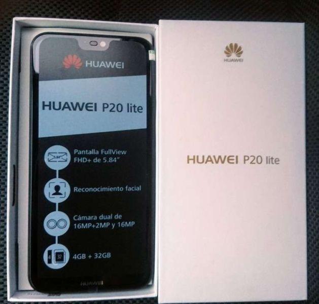 3fcdf565199db Telefono Celular Huawei P20 Lite 4gb+32 16mp Nuevo - Bs. 650