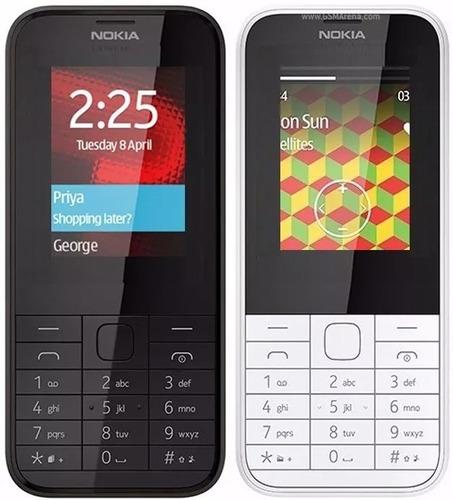 telefono celular nokia 225 doble sim camara flash tienda