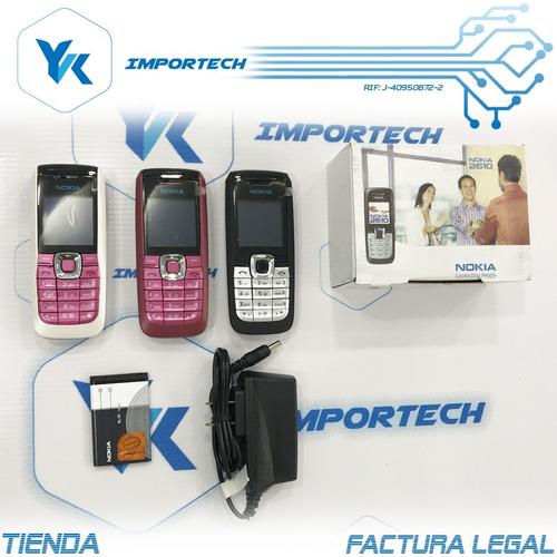 telefono celular nokia 2610 solo digitel somos tienda fisica