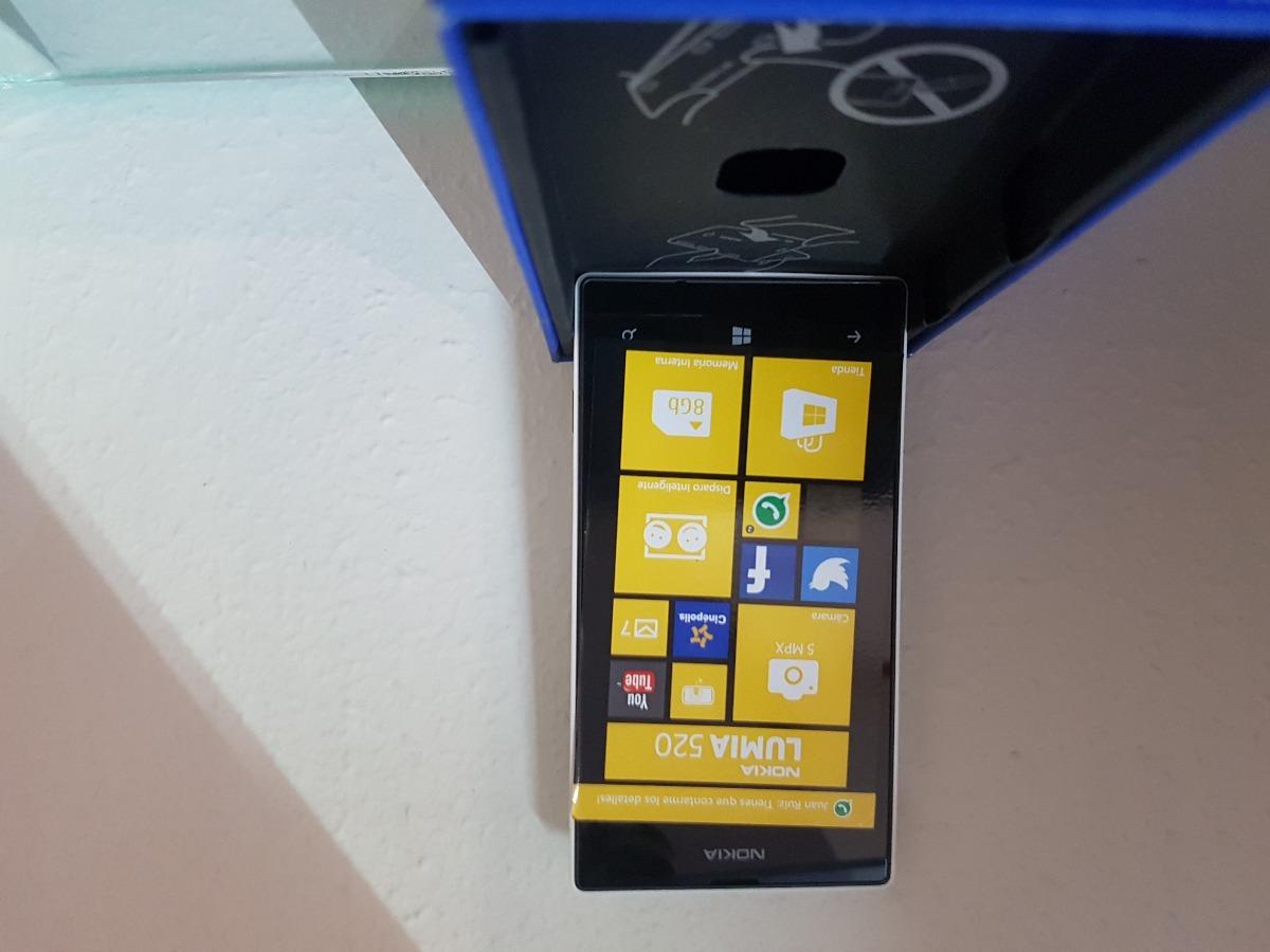 Telefono Celular Nokia Lumia 520 99900 En Mercado Libre 8gb Red Cargando Zoom