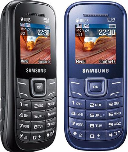 telefono celular samsung e1207 doble sim camara internet