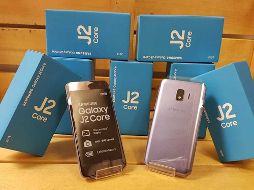 telefono celular samsung j2 core 16gb + microsd 32gb obsequi