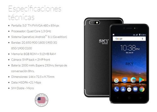 telefono celular sky platinum b5