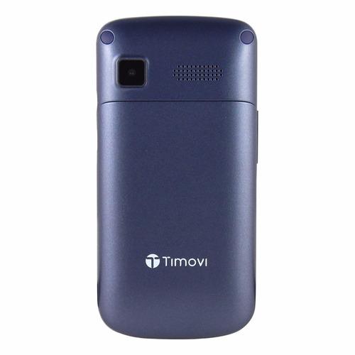 telefono celular timovi 911 neo dual sim adulto mayor azul