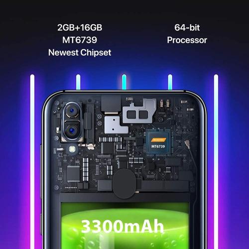 telefono celular umidigi a3 color negro